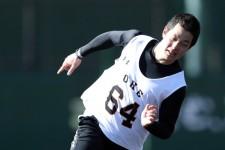 ルーキーイヤーの昨シーズン、ファームで12試合に登板した巨人・大江竜聖