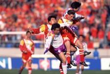 天皇杯の決勝でサンフレッチェ広島と対戦したグランパス photo by AFLO