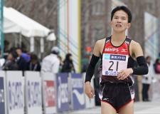 東京マラソンのゴール時にも、悔しそうな表情を浮かべた井上