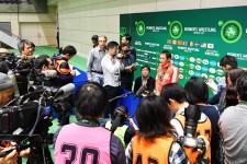 パワハラ問題の影響で今年のワールドカップには多くのメディアが駆けつけた