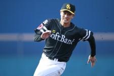 昨年、育成選手ながらウエスタン・リーグの盗塁王に輝いた周東佑京