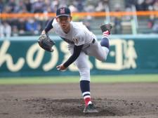 明豊打線につかまり3回途中で降板した横浜のエース・及川雅貴