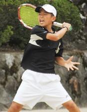 優勝した井上玄意(三重/津市立桃園小学校)[写真/tennis365.net]