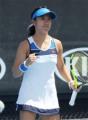 加藤未唯 第2シード破る金星、逆転勝ちで初戦突破<女子テニス>