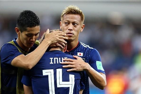 [ロシアW杯#54]日本、初の8強入りは幻に! 原口&乾の超絶ゴール実らず、涙をのむ