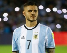 昨年、アルゼンチン代表に復帰したイカルディ photo/Getty Images