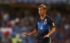 代表復帰を果たすこととなった本田 photo/Getty Images
