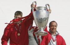 2004-05シーズンのCLを制したリヴァプール photo/Getty Images