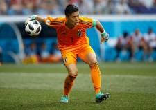 今夏、日本代表の一員としてロシアW杯に出場していた川島 photo/Getty Images