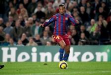 バルセロナで活躍してきたロナウジーニョ photo/Getty Images