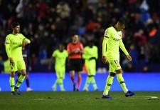 国王杯ベスト16第1戦を落としたバルセロナ photo/Getty Images