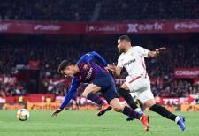 セビージャに敗れたバルセロナ photo/Getty Images