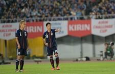 日本代表を支えてきた本田&香川 photo/Getty Images