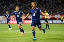 2ゴールの活躍で勝利に貢献した永井 photo/Getty Images