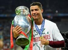 EURO2016で自身初のナショナルチームタイトルを手に入れたC・ロナウド photo/Getty Images