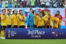 ロシアW杯で3位に入ったベルギー photo/Getty Images