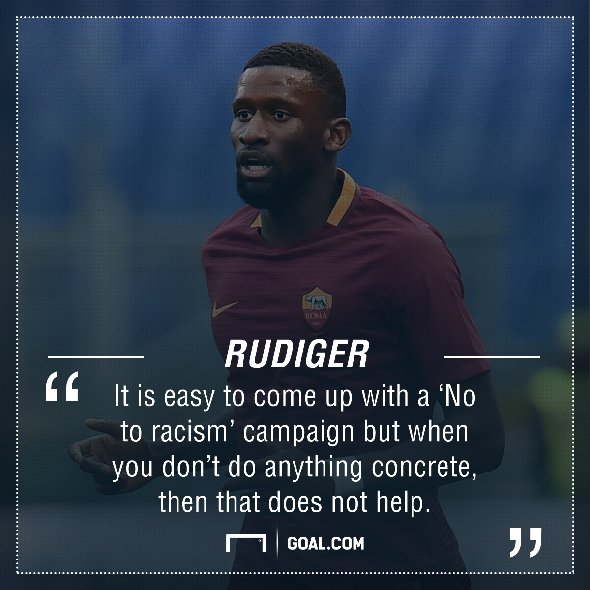 Antonio Rudiger racism PS