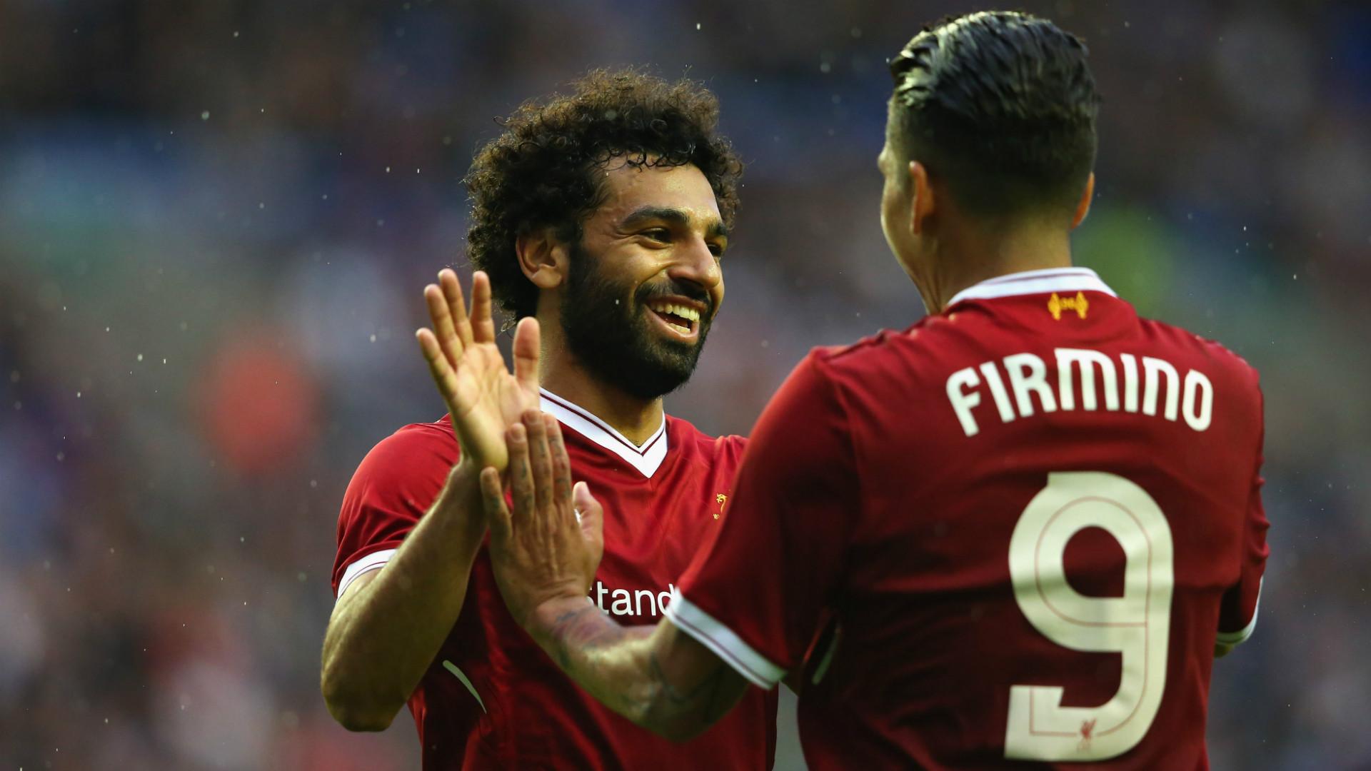 HD Mohamed Salah Roberto Firmino