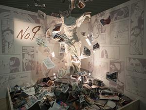 ルーヴルの代表的な作品のひとつ「サモトラケのニケ」の原寸大レプリカ