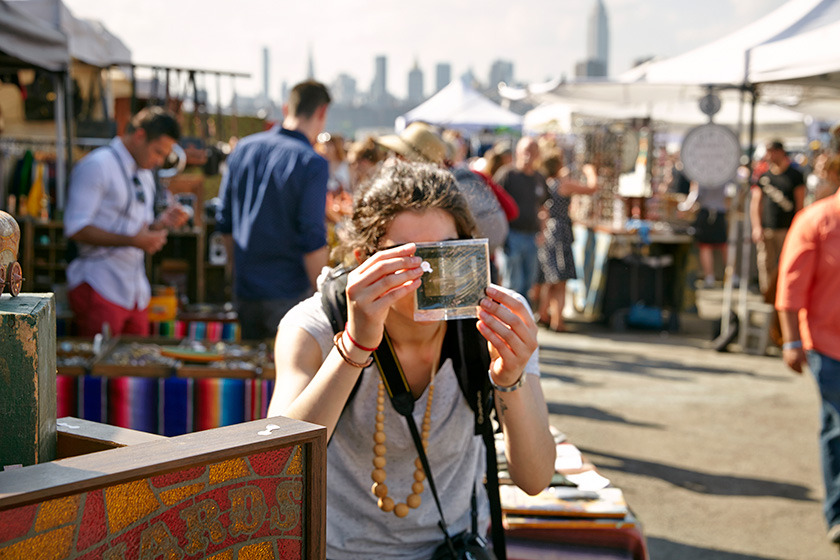 (c) Brooklyn Flea