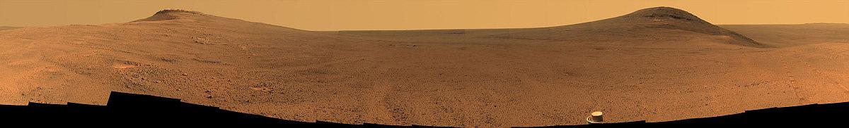 火星のパノラマ画像