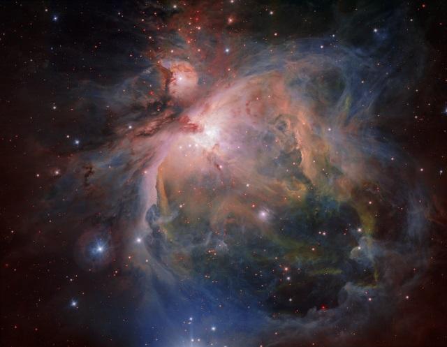 オリオン座大星雲と若い星団