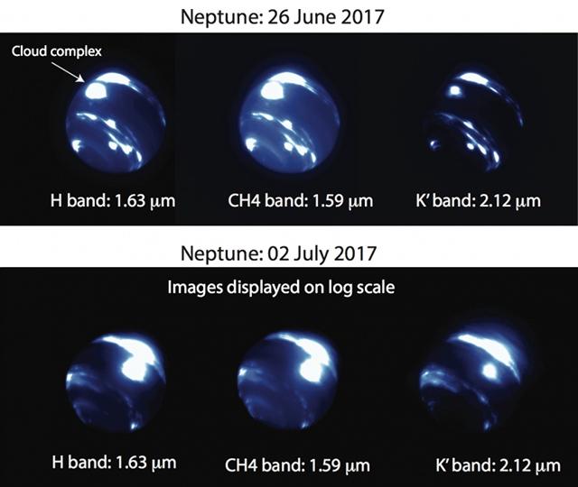 海王星の嵐