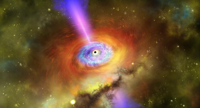 銀河団コアの想像図