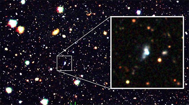 銀河「HSC J1631+4426」