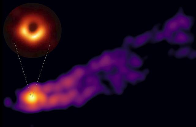 ブラックホールの影とジェット