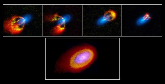 Elias 2-27の原始惑星系円盤