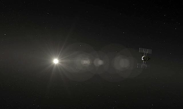 黄道光を観測する「はやぶさ2」