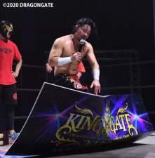 EitaはKOG初優勝を果たすも土井の持つ王座挑戦の条件に吉野の引退を突き付けた