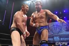 永田裕志と鈴木みのるは壮絶な打撃戦を展開した