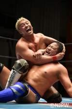 オカダ・カズチカは永田裕志を下してNJC準々決勝進出