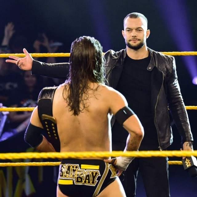 【WWE】サプライズ登場のフィン・ベイラーがNXT復帰宣言