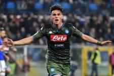 今季からナポリでプレイしているエルマス photo/Getty Images