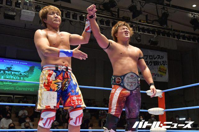 24年目の日高郁人が全日本プロレスで世界ジュニア王座に初挑戦も岩本煌史が返り討ち!「列の最後尾に並ぶ。あの伝統のベルトをどうしても取りたい」