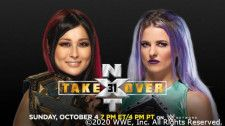 NXT女子王者紫雷イオとバトルロイヤルを制したキャンディス・レラエの王座戦が決定