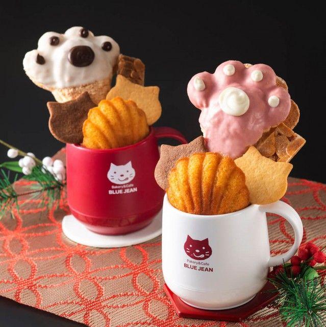 猫モチーフの焼き菓子をぎゅっと詰め込んだマグカップが発売!食べた後の容器も使えるニャ♪