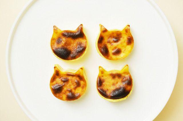 こんがり美味しそうニャ!ねこねこチーズケーキから焼き色を付けた新商品「にゃんチー」が登場