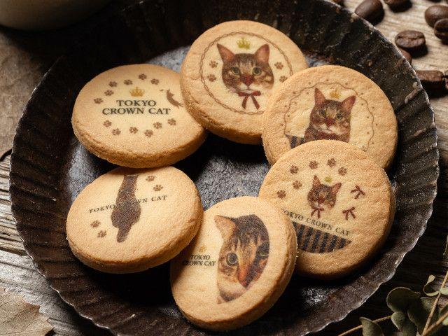 猫の鮮明な写真がプリントされたクッキー!TOKYO CROWN CATから新商品が登場
