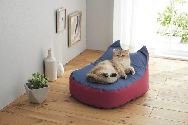 猫の体にフィットする専用ビーズクッションも!ペット用品ブランドのSippoleから新作が登場