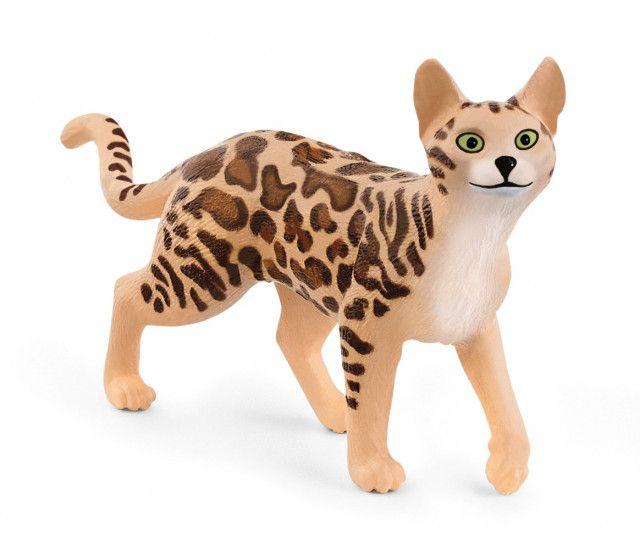 ベンガル猫もリアルに再現!ドイツのフィギュアメーカーから8種類の動物アイテムが新登場