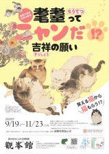 ネコと牡丹の絵には繁栄の願いが込められていた!「耄耋」をテーマにした中国絵画の展覧会が開催