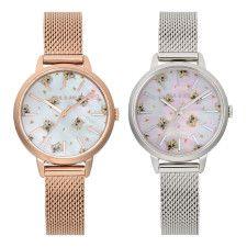 ペルシャ猫を散りばめた腕時計が可愛い♪ ポールアンドジョーから新作ウォッチや猫グッズが登場