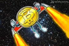 ビットコイン、過去最高値を更新 | コインベース上場前に6万2700ドルまで上昇