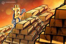 仮想通貨市場下落の中、金価格は4ヶ月ぶりの高値に