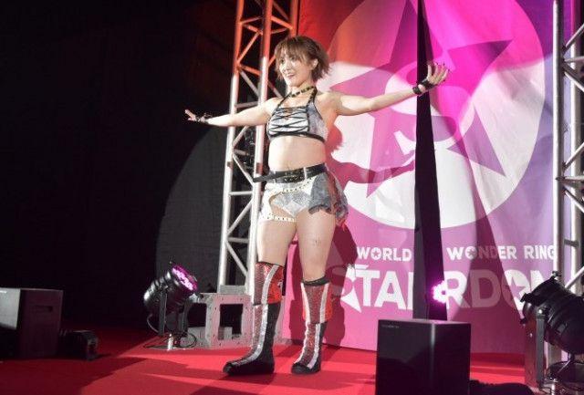 【スターダム】ドンナ・デル・モンドの新メンバーは万喜なつみ改めなつぽい!「目指すはハイスピードチャンピオン」