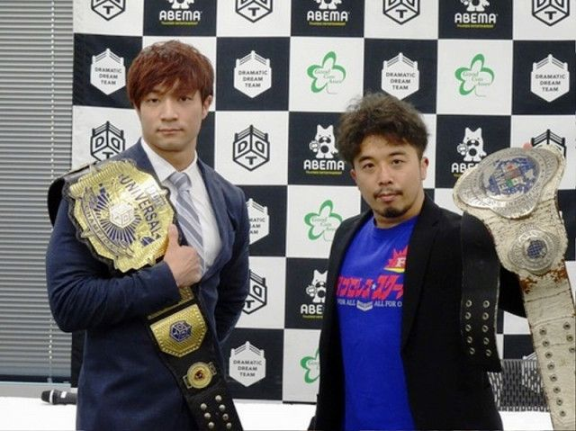 "【DDT】来年1・9後楽園のメインでUNIVERSAL王座を争う上野勇希と自称""インディーレスラー""翔太が舌戦を展開!"